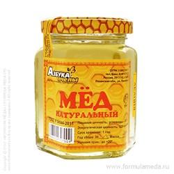 Акациевый мёд 250 АЗБУКА ПЧЕЛЫ продукция в официальном интернет-магазине ФОРМУЛА МЁДА 101-014-02 01