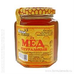 Дягилевый мёд 250 АЗБУКА ПЧЕЛЫ продукция в официальном интернет-магазине ФОРМУЛА МЁДА 101-016-02 01