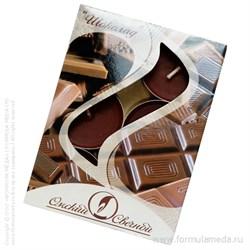 Шоколад ароматические свечи в гильзе 6 шт ОМСКИЙ СВЕЧНОЙ в официальном интернет-магазине ФОРМУЛА МЁДА 401-026-14 01