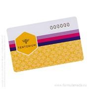 Дисконтная карта TENTORIUM скидки продукция пчеловодства в официальном интернет-магазине Формула Мёда 501-02-01 01