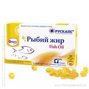 Рыбий жир 30 капсулы РУСКАПС продукция в официальном интернет-магазине ФОРМУЛА МЁДА 203-011-07 01